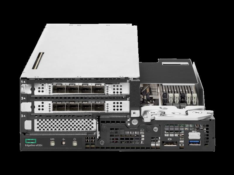 Lame serveur HPE Edgeline e920t Center facing