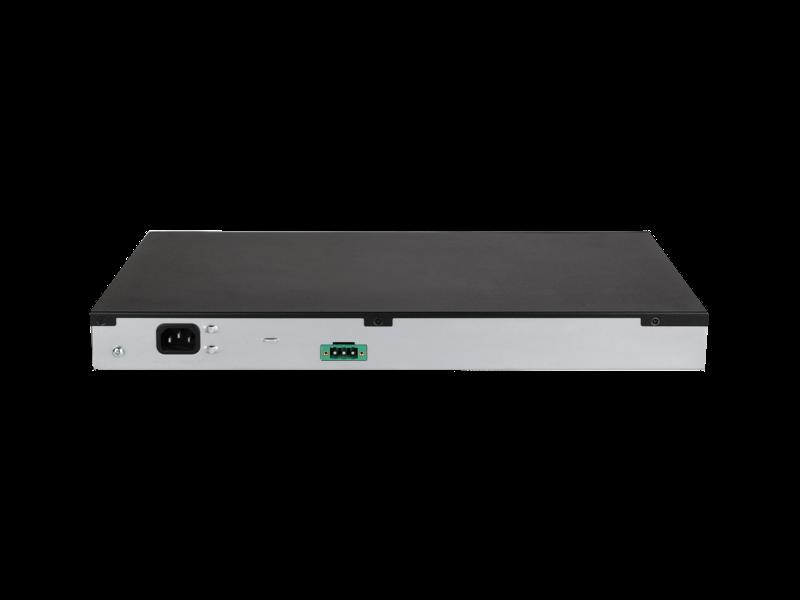 Commutateur HPE FlexNetwork 5140 24G PoE+ 4SFP+ EI Rear facing
