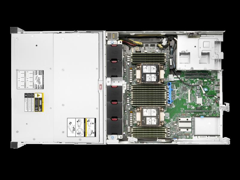 HPE Apollo 4200 Gen10 Plus 系统 Detail view