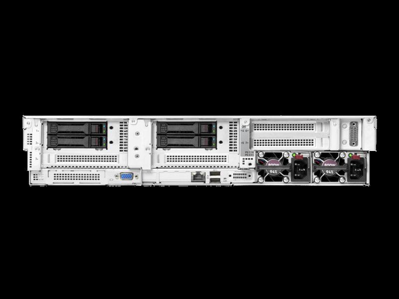 HPE Apollo 4200 Gen10 Plus 系统 Right facing