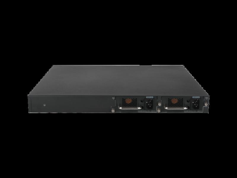 HPE FlexNetwork 5140 24G SFP 带 8G 组合 4SFP+ EI 交换机 Rear facing