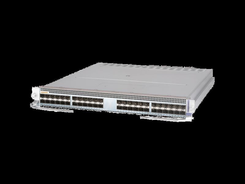 HPE FlexFabric 12900E 48 端口 10 千兆以太网 SFP+ X 型模块 Center facing