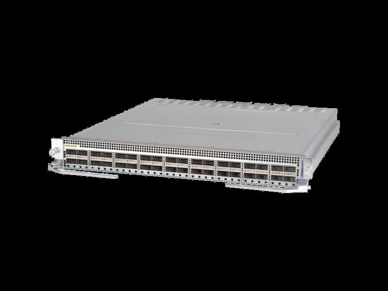 Module HPE FlexFabric 12900E 36ports 100GbE QSFP28 Type X Center facing
