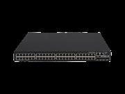 Commutateur HPE FlexNetwork 5520HI 48G 10/100/1000BASE-T 4 10G/1G BASE-X SFP+ 1 Emplacement 2 Tiroirs ventilation 2 Modules alimentation