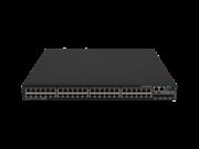 Commutateur HPE FlexNetwork 5520HI 48 10/100/1000BASE-T 4 10G/1G BASE-X SFP+ 1 Emplacement 2 Tiroirs ventilation 2 Modules alimentation